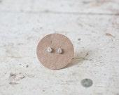 Tiny Raindrop Earrings Tiny Raindrop Studs Itty Bitty Earrings Rain Drop Earrings Drop Studs Sterling Silver Studs Sterling Silver Earrings