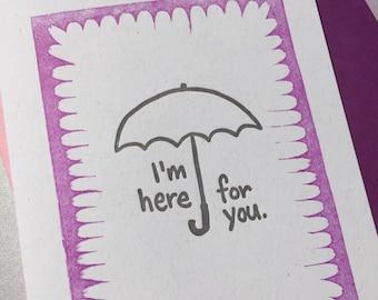 Purple rain support card - benefit