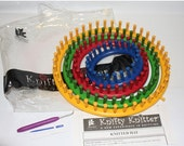 HALF OFF Knifty Knitter set, complete with package Knifty Knitter, Provo craft knifty knitter