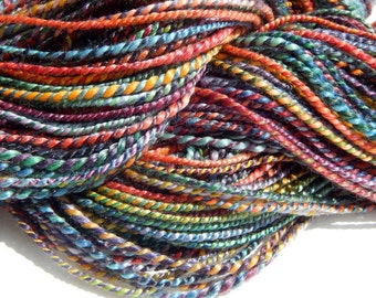 Rainbow Run V-Handspun Yarn