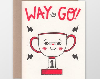 Way to Go! Congrats Card