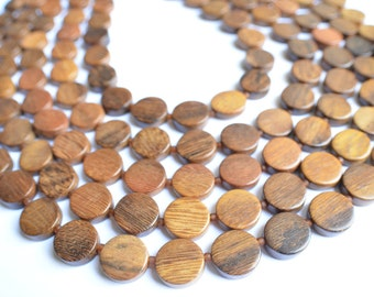 The Charlotte- Robles Wood Multi Strand Statement Necklace