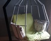 Retro 70s Pepegojan Parrot Birdcage Chair Ib Arberg Sweden