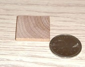 Wood Squares 10    1 by 1 Inch