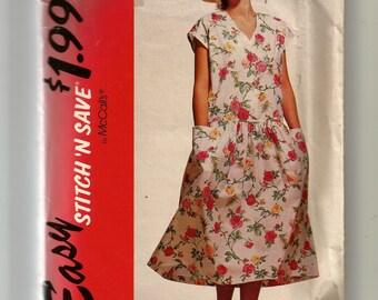 McCall's Misses' Dress Patten 5913