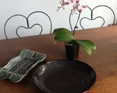 RESERVED FOR  John only - Oil Spot Bowl & Bonsai Tray