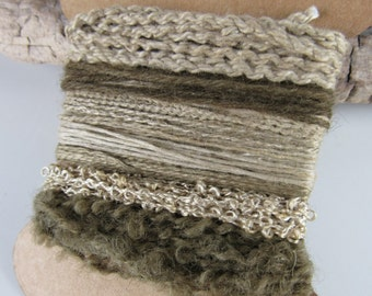 Small Dark Brown Onion Natural Dye Textured Thread Pack