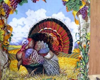 Harvest Happy Thanksgiving Turkey Wall Or Door Hanging