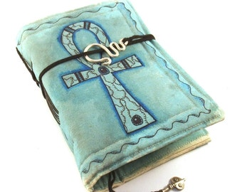 Ankh, Journal, Painted Canvas