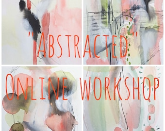 Custom Listing for Lynn Abstracted All New Online Painting Workshop