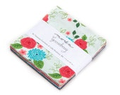 SALE - Gooseberry Charm Pack by Lella Boutique for Moda Fabrics,  42 5 inch squares