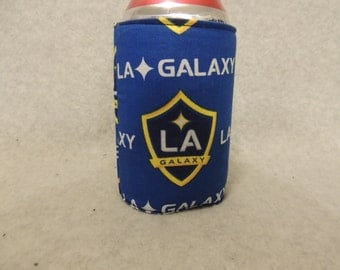 Can or Bottle Cozie LA Galaxy Soccer