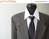 sale Mens vintage Blazer / Plaid Cotton viscose Mens Sport Coat / Olive Green / Teal Blue / Black / Herringbone / Hand Tailored 38 40