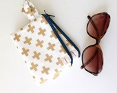Change purse, Gold zipper pouch, credit card, bag, gift card holder, coin purse, Ready To Ship, padded minimalist thin wallet, coin wallet