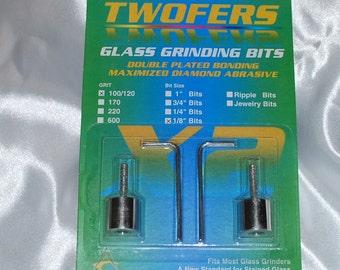 Aanraku Twofers – 1/8 inch (3.2mm) Grinder Bits – Standard Grit // INCLUDES 2 BITS // fits most grinders