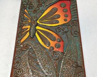 Butterfly Leaves and Vines Art Journal - AJ70001-16
