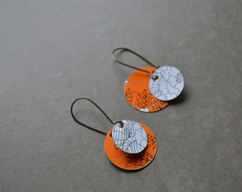 Harbinger Collection Layered Disc Earrings