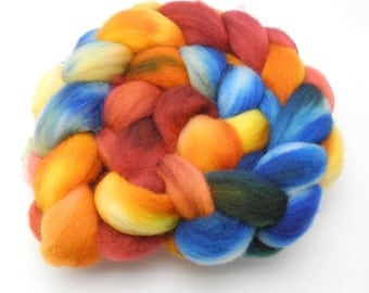 For The Love Of Pants - Hand Dyed Roving - Spinning Fiber - BFL - Falkland - Shetland - Targhee- Cheviot - Dyed to Order