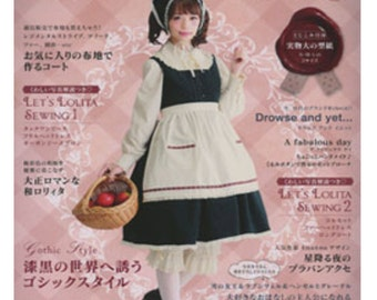 LOLITA Cosplay Vol8  Japanese Sewing Pattern Book
