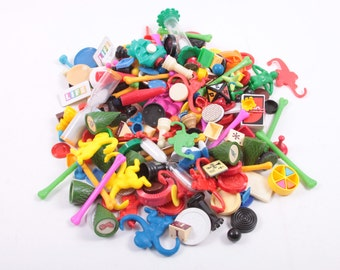 Craft Lot 1 Pound of Vintage Board Game Pieces Plastic For Crafts, 1lb Projects, Fun 100+ Bits ~ The Pink Room ~ 170106