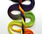 "Size 40 ""Spooky"" hand dyed tatting thread 6 cord cordonnet crochet cotton"