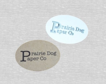 Oval Stickers, Set of 24, Sticker, Oval Tag, Business Supply, Sticker Favor