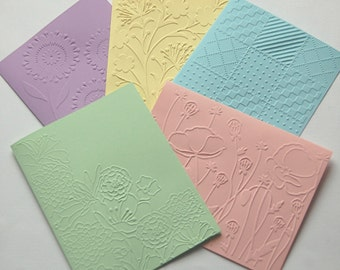 Assorted Note Cards, Embossed Cards, Blank Note Cards Set, Flower Note Cards, All Occasion Cards, Greeting Cards, Thank You Cards, Note Card