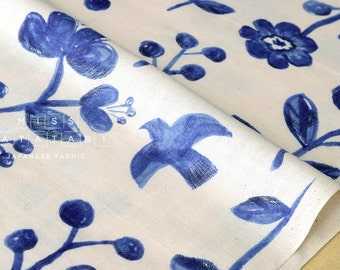 Japanese Fabric Kokka Trefle nature double gauze - A - 50cm