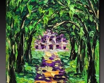 New Orleans  Painting Original Oil Painting  ART B. Sasik