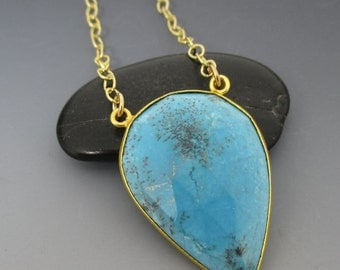 Turquoise 14kt Gold Filled Necklace