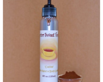 Coffee Body Lotion (Paraben Free)