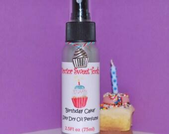 Vanilla Birthday Cake Silky Dry Oil Perfume