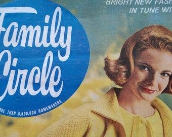 Family Circle Feb. 1963 Vintage Magazine