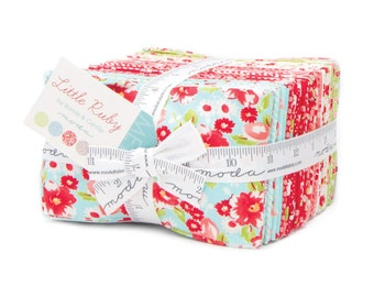 IN STOCK Little Ruby Fat EIGHTH Bundle by Bonnie and Camille Moda Fabrics