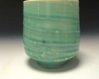 Aqua Blue yunomi