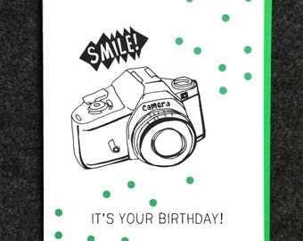 Smile! It's your birthday!