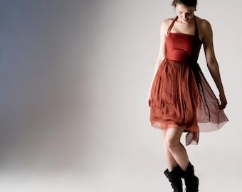 Red dress, Bridesmaids dress, Womens dress, Party dress, Evening dress, Cocktail dress, Short dress, Boho dress, Reception dress, Prom dress