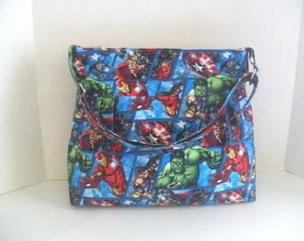 Diaper Bag - Marvel Diaper Bag - Messenger Bag - Crossbody