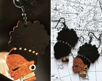 Afrocentric Jewelry,Jewelery ,Fashion,Dangle, Earrings