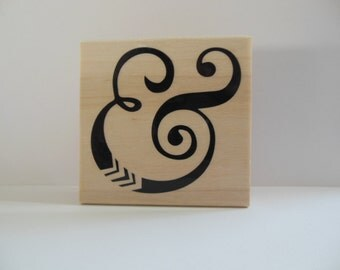 Ampersand Stamp - Songs of Spring Collection - Wood Mounted Rubber Stamp