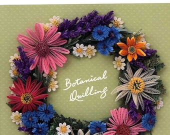 BOTANICAL QUILLING Vol 6 2015- Instructers Works