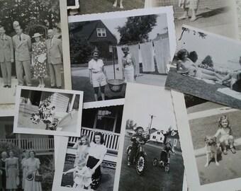 16 Vintage Black and White Photos