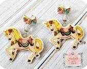 Pastel Unicorn Earrings bow