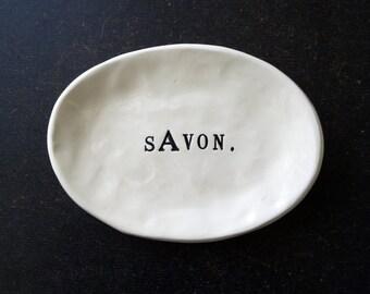 SAVON oval dish.