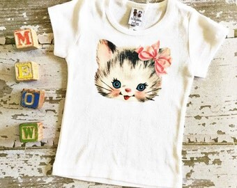 Sweet Kitten Top by Chic Baby Rose