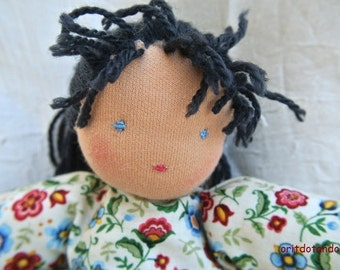 Waldorf doll, 12inch, for all ages, made of natural materials.