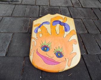 Troll Power! Toy Wooden Shield