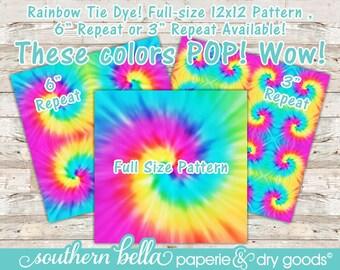 Tie Dye Vinyl * Regular, HTV or HTV Glitter Vinyl * Craft Vinyl * 12x12 Craft Vinyl Sheet  * Tie Dye Vinyl * sku TDYE