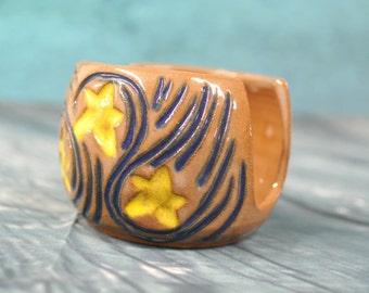 Starry Night Sponge Holder
