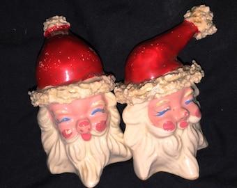 Japan Santa Salt and Pepper Shakers